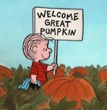 Linus Great Pumpkin