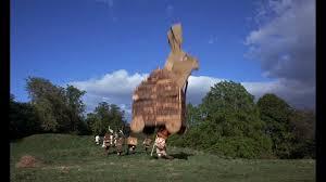 Monty Python trojan rabbit